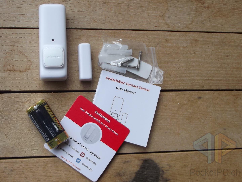 SwitchBot Contact Sensor Fenstersensor Türsensor