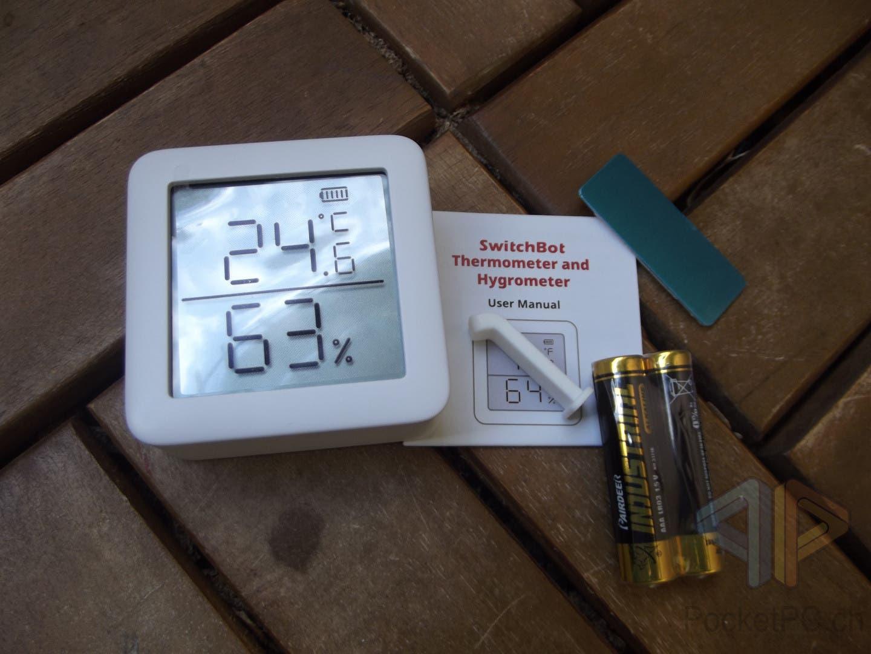 SwitchBot Meter Thermometer und Hygrometer
